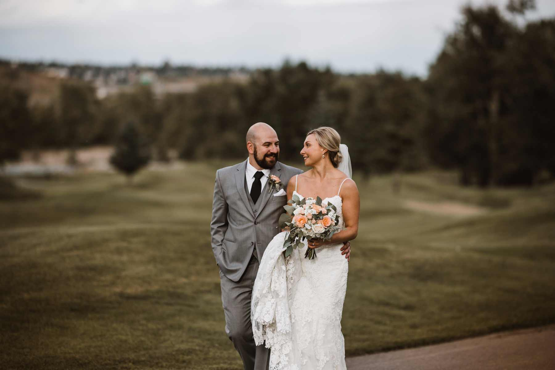Calgary Wedding Photography at Valley Ridge Golf Club | Film