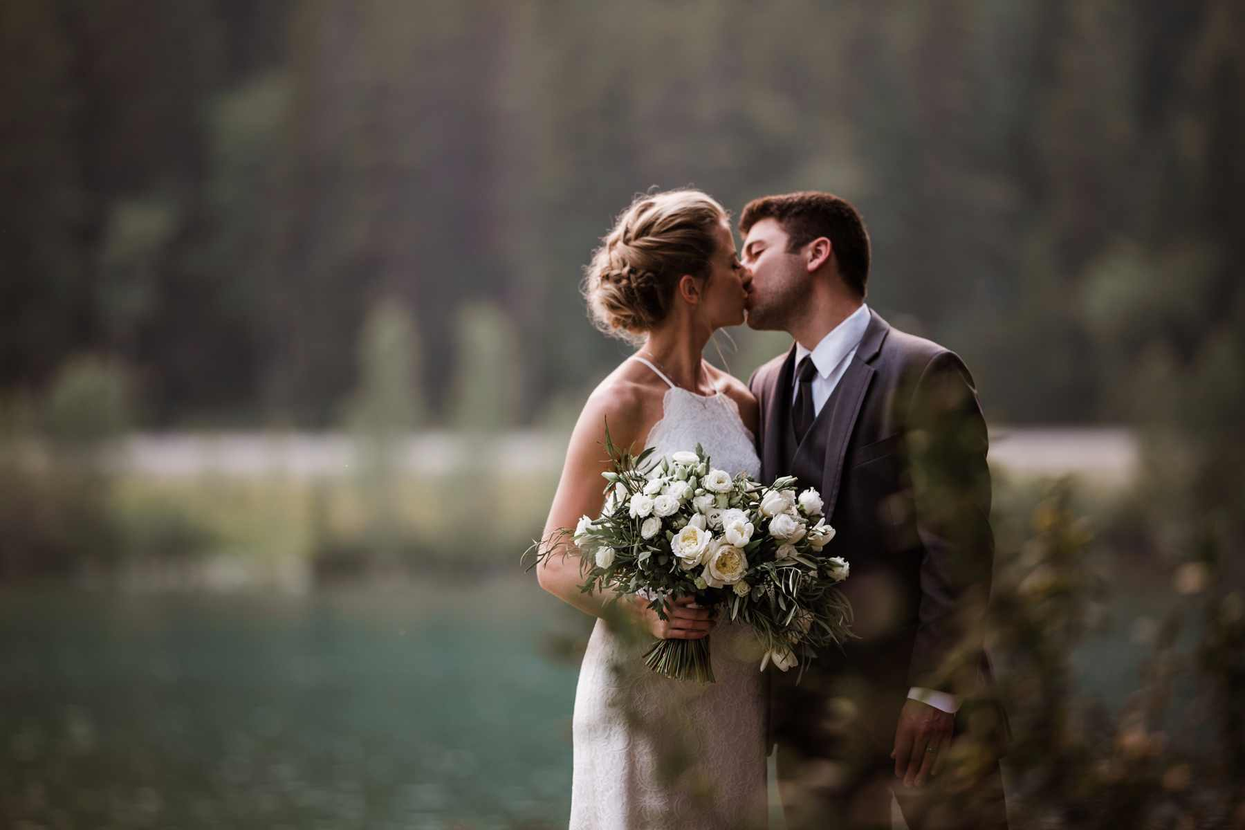 Canmore Wedding Elopement in the Canadian Rockies | Film & Forest